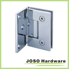 Wall Mount Rectagular Offset Back Plate 90 Degree Shower Hinge (Bh2001A)